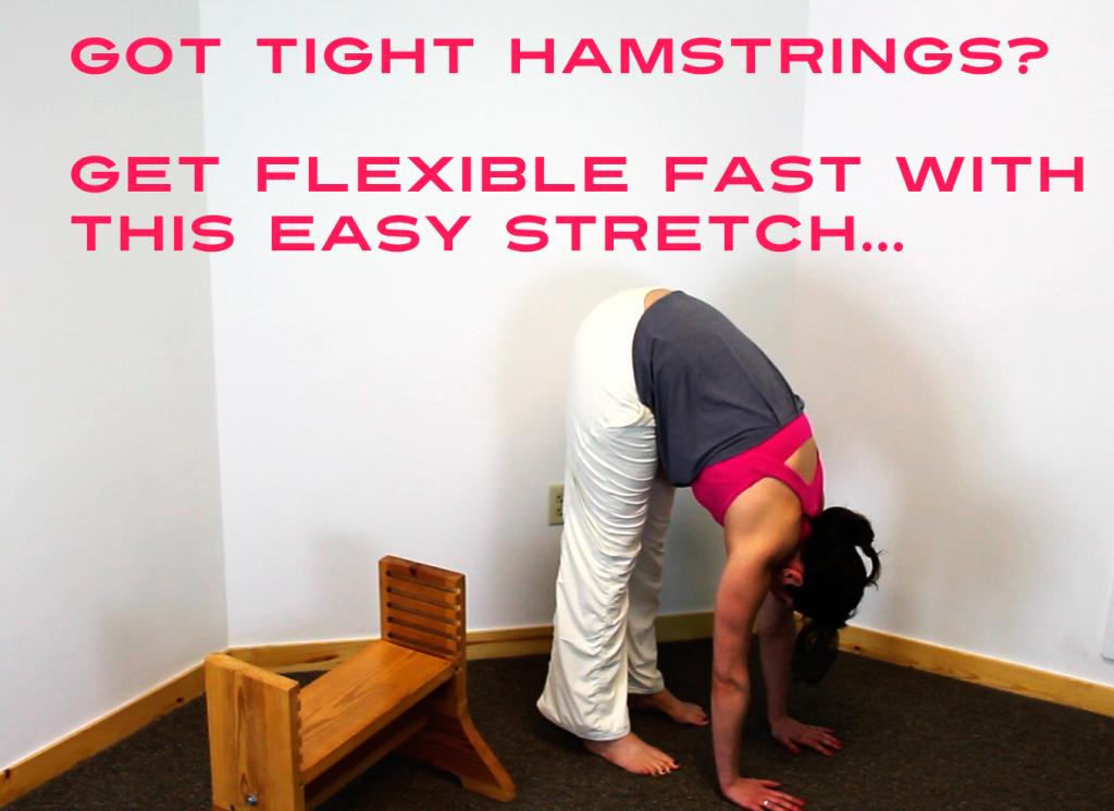 tight hamstring stretch